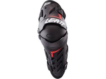 Dual Axis Knieprotektoren schwarz/rot