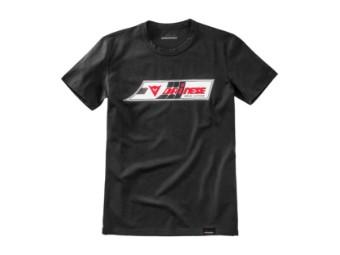 """""""Speed Leather"""" T-Shirt Settantadue schwarz"""