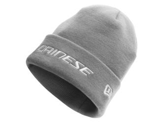 Cuff Beanie Mütze grau Wintermütze Mütze