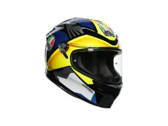 K6 Joan schwarz/blau/gelb Helm