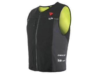 Dair Smart Jacket Motorrad Airbag Weste Schwarz