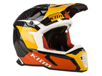 F5 Koroyd MX Helm orange/chasm