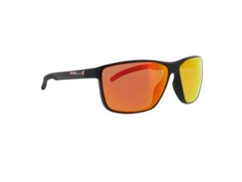 Drift Sun glasses Sonnenbrille glanzschwarz rot verspiegelt CAT3 polarisierend