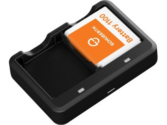 SC1 Batterie Akku Ladegerät + Akku für Schuberth SC1 C4 C4 Pro R2