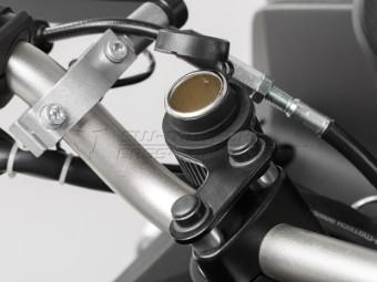 Zigarettenanzünder-Steckdose mit Kabelbaum Spritzwasser-Schutzkappe Kabel 160cm 12V