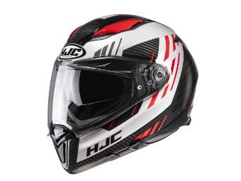 F70 Carbon Kesta MC-1 rot Helm