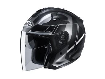 FG Jet Komina Jet-Helm MC-5SF schwarz