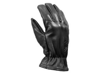 Freewheeler XTM Black Used Klassiche Motorrad Leder Handschuhe