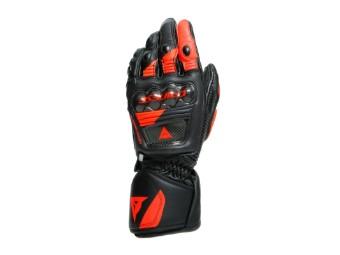 Druid 3 Handschuhe Schwarz/Fluo-Rot