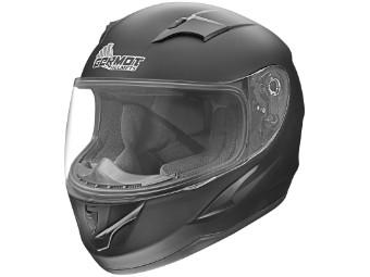 GM 420 Junior Kinder Helm matt-schwarz