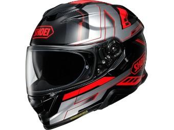 GT-Air 2 Aperture TC-1 Rot Helm mit Sonnenblende
