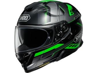 GT-Air 2 Aperture TC-4 grün Helm mit Sonnenblende