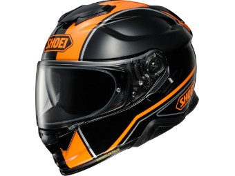 GT-Air 2 Panorama TC-8 schwarz/orange Helm