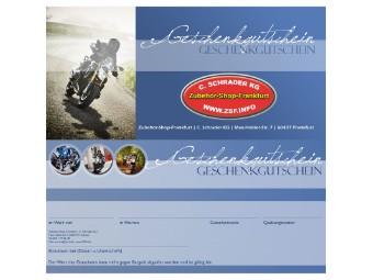 Gutschein / Geschenkgutschein - Dainese Frankfurt C. Schrader KG www.ZSF.info