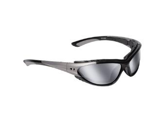 Sonnenbrille 100% UV-Schutz Titanium-Matt