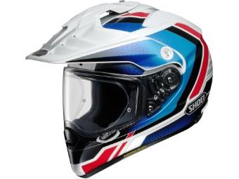Hornet-ADV Sovereign TC-10 blau/rot Enduro Adventure Helm