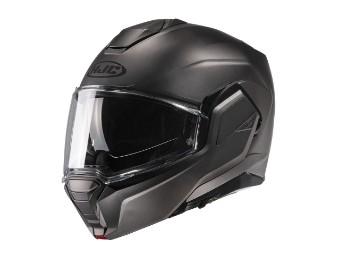 i100 Klapp-Helm Matt-Titanium
