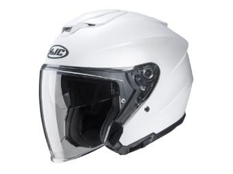 i30 Jet-Helm matt-weiß