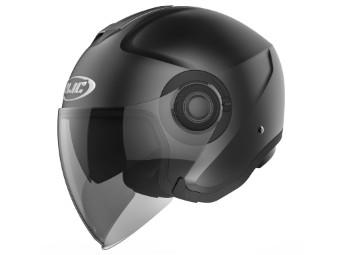 i40 Jet-Helm matt-schwarz