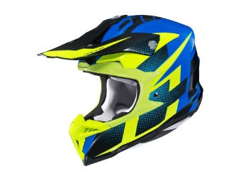 i50 Argos MX-Helm MC-23 Blue/Yellow