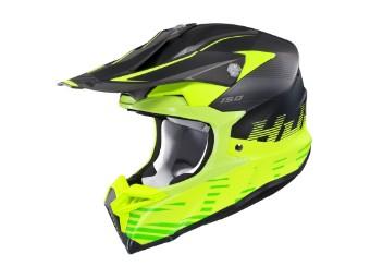 i50 Fury MC-3HSF gelb MX-Helm