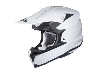 i50 MX-Helm Weiß
