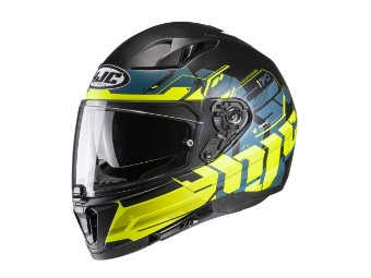 i70 Alligon MC-3HSF gelb Helm