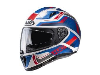 i70 Lonex MC-21SF blau/rot Helm