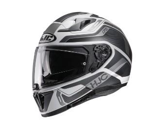i70 Lonex MC-5SF schwarz Helm