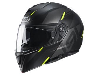 i90 Aventa MC-4HSF gelb Klapp-Helm