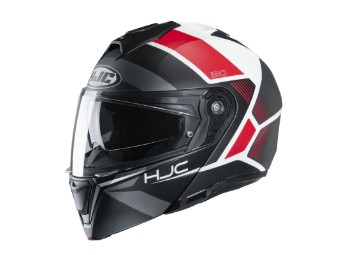 i90 Hollen MC1SF Klapp-Helm rot