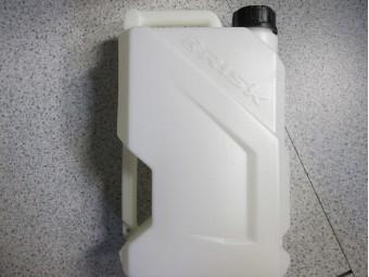 Racing Gallon Gas Kanister 12 Liter weiß