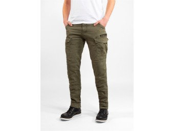 Cargo Stroker Olive-XTM Jeans Länge: 34