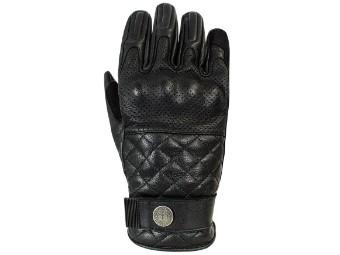 Tracker XTM Black klassicher Motorrad Leader Handschuhe