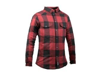 Motoshirt Women Black/Red XTM-Fiber ®