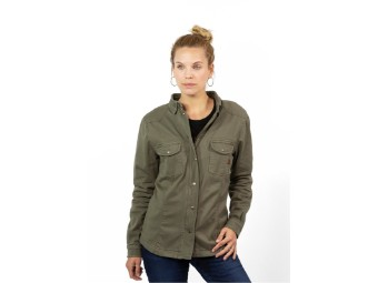 Motoshirt Women Olive XTM-Fiber ®