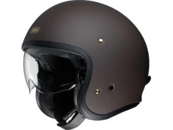 JO Jet Helm matt-braun