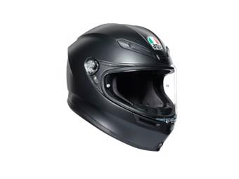 K6 Helm matt-schwarz