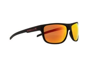 Loom Sun glasses Sonnenbrille matt schwarz rot verspiegelt CAT3 polarisierend