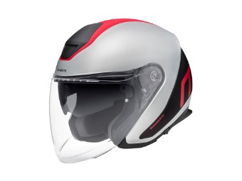 M1 Pro Triple Red Jet-Helm