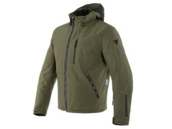 Mayfair D-Dry Jacke schwarz/grün