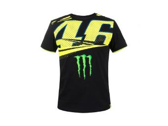 Monza Dual T-Shirt schwarz