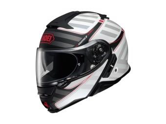 Neotec 2 Splicer TC-6 weiss/schwarz Klapp-Helm
