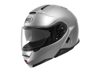Neotec 2 Klapp-Helm silber