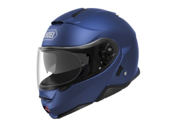 Neotec 2 Klapp-Helm blau-metallic