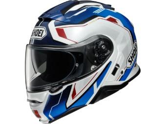 Neotec 2 Respect TC-10 blau/rot Klapp-Helm