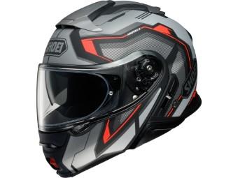 Neotec 2 Respect TC-5 schwarz Klapp-Helm