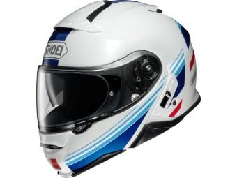 Neotec 2 Separator TC-10 weiss/blau Klapp-Helm