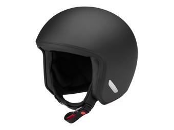 O1 Jet-Helm matt schwarz