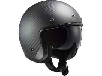 OF601 Bob C Carbon Jet Helm schwarz